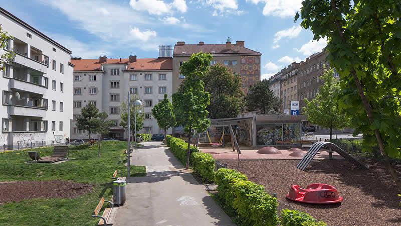 Klieberpark in Wien-Margareten
