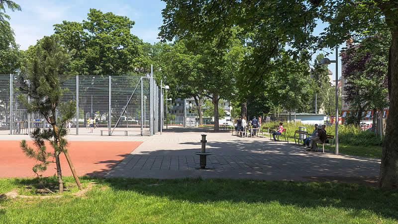 Laubepark in Wien-Favoriten