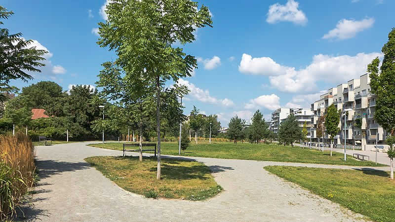Leon-Zelman-Park in Wien 3