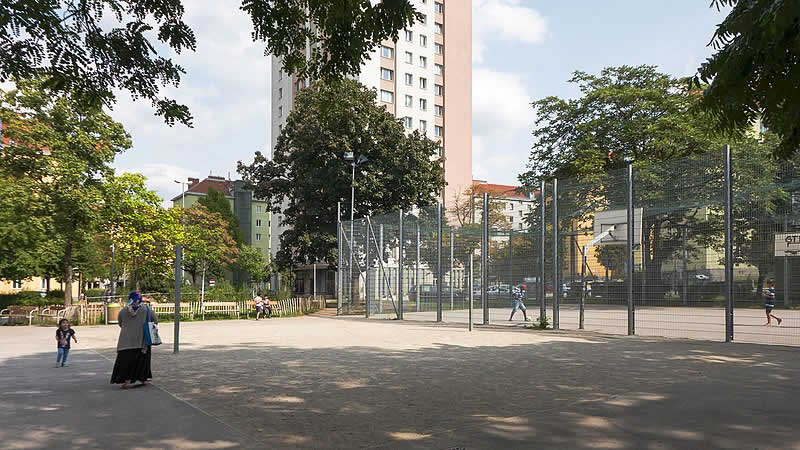 Leopold-Rister-Park in Wien-Margareten
