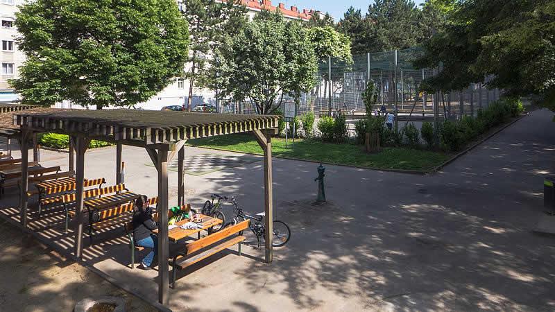 Lichtentalerpark in Wien 9
