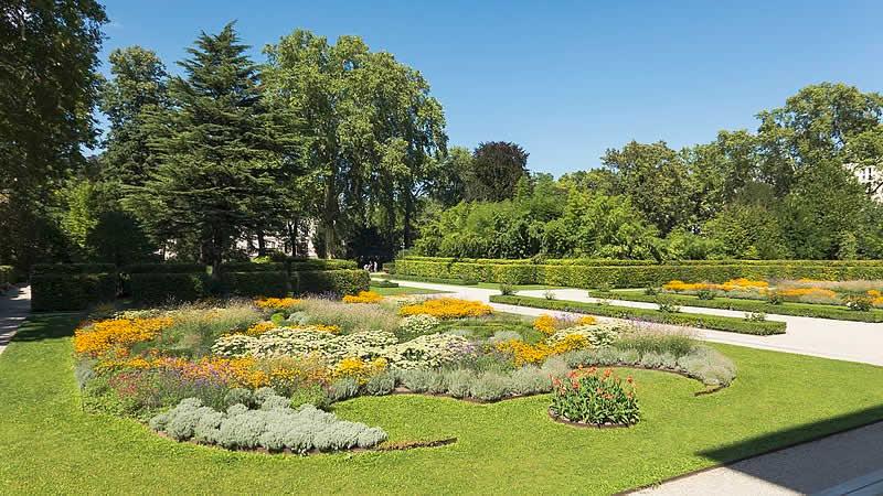 Liechtensteinpark in Wien 9