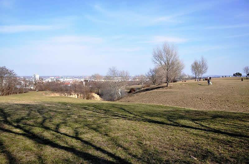 Erholungsgebiet Löwygrube im Süden von Wien