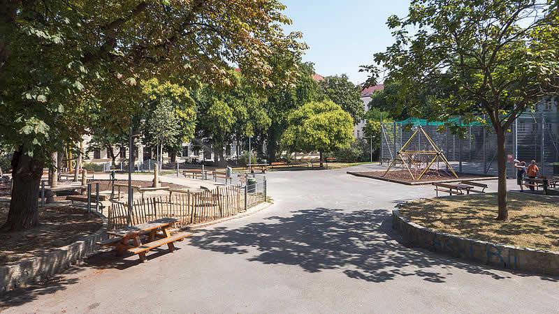Maria-Ebner-Eschenbach-Park in Wien-Währing