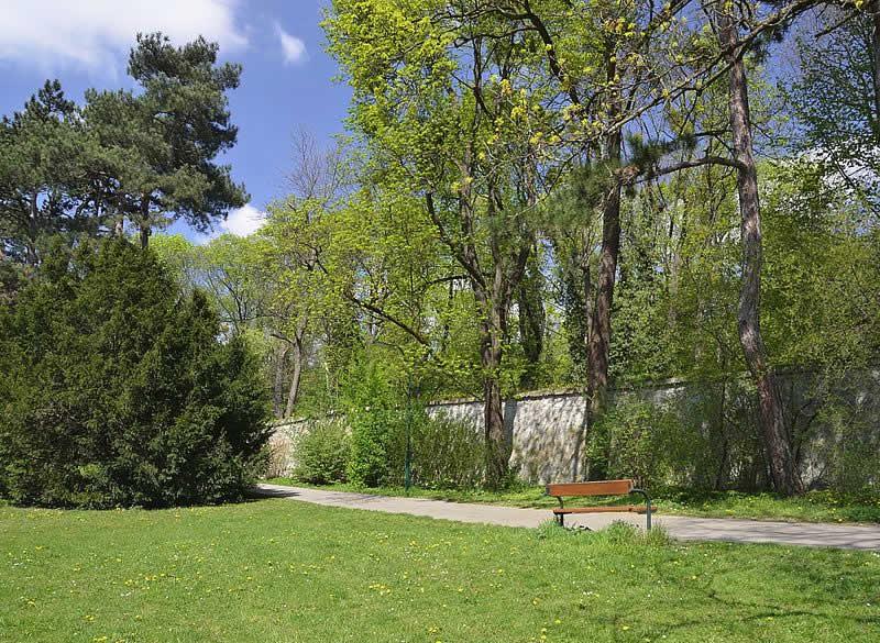 Maxingpark beim Schloss Schönbrunn in Wien 13