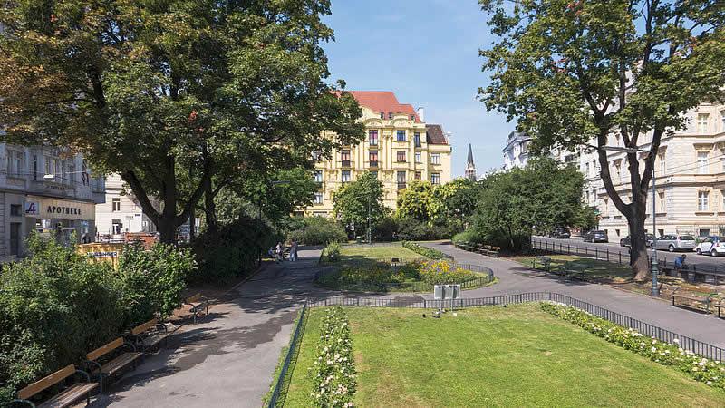 Norbert-Liebermann-Park bei der Gentzgasse in Wien