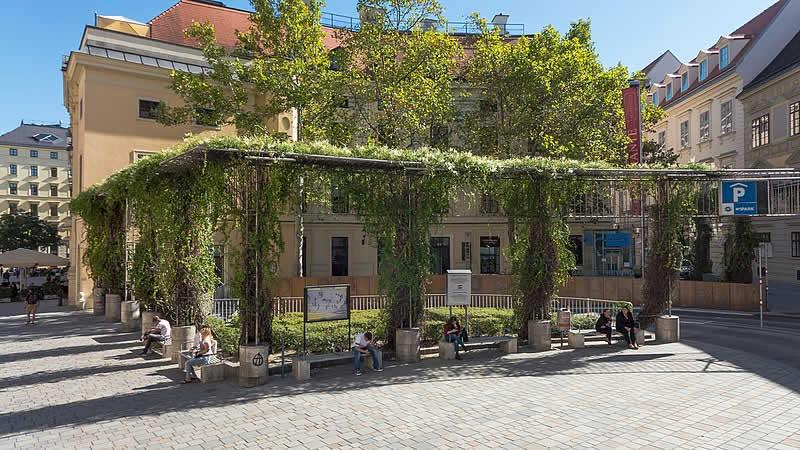 PaN-Garten in Wien 1