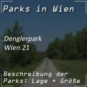 Denglerpark bei der Prager Straße in Wien