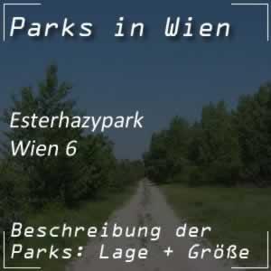 Esterhazypark beim Haus des Meeres in Wien
