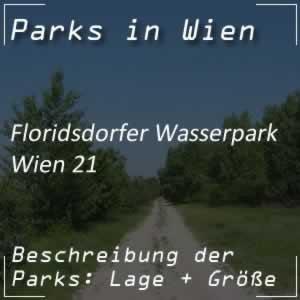 Floridsdorfer Wasserpark bei der Alten Donau in Wien