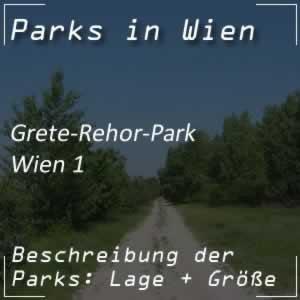 Grete-Rehor-Park beim Parlament in Wien