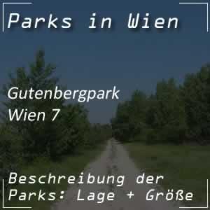 Gutenbergpark beim Spittelberg in Wien