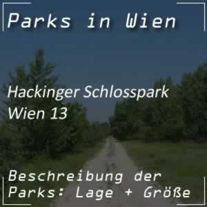 Hackinger Schlosspark in Wien-Hietzing