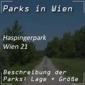 Haspingerpark bei der Jedlersdorfer Straße Wien 21