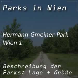 Hermann-Gmeiner-Park bei der Börse in Wien