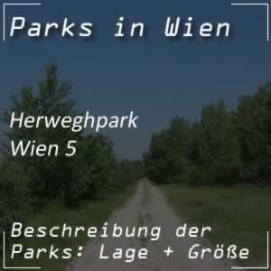 Herweghpark beim Gürtel in Wien-Margareten