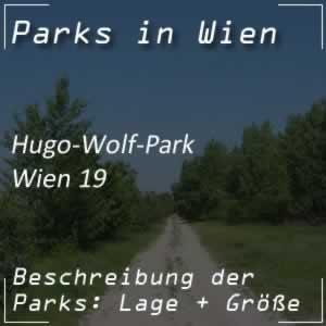 Hugo-Wolf-Park in Wien-Döbling