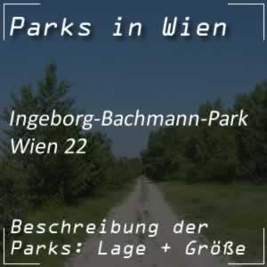 Ingeborg-Bachmann-Park bei der Wagramer Straße Wien