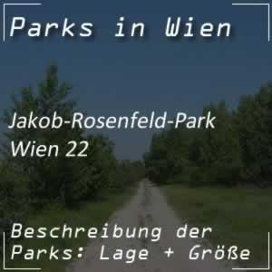 Jakob-Rosenfeld-Park bei der Wagramer Straße Wien