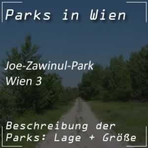 Joe-Zawinul-Park in Wien-Landstraße