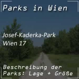Josef-Kaderka-Park in Wien-Hernals