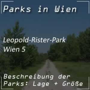 Leopold-Rister-Park beim Margaretengürtel Wien 5