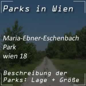 Maria-Ebner-Eschenbach-Park in Wien 18