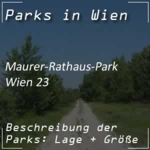 Maurer-Rathaus-Park bei der Speisinger Straße Wien 23