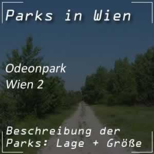 Odeonpark in Wien-Leopoldstadt