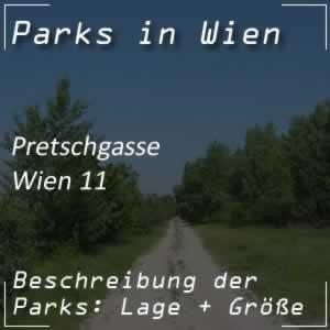 Parkanlage Pretschgasse in Wien-Simmering