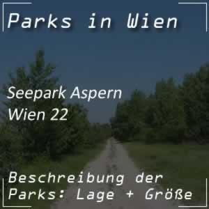 Seepark Aspern in der Seestadt Wien