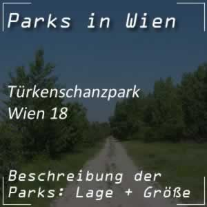 Türkenschanzpark im 18. Bezirk in Wien
