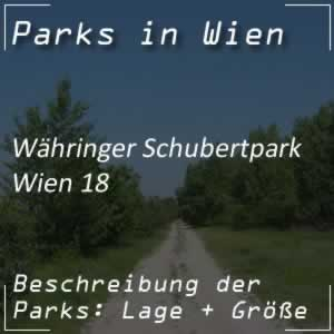 Währinger Schubertpark in Wien 18