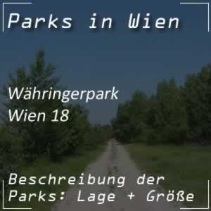 Währingerpark beim Gürtel in Wien-Währing