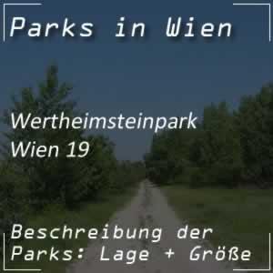 Wertheimsteinpark in Wien 19