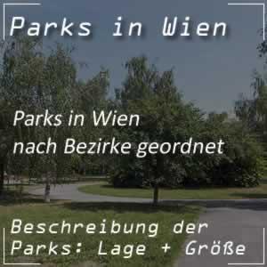 Liste der Wiener Parks nach Bezirke geordnet