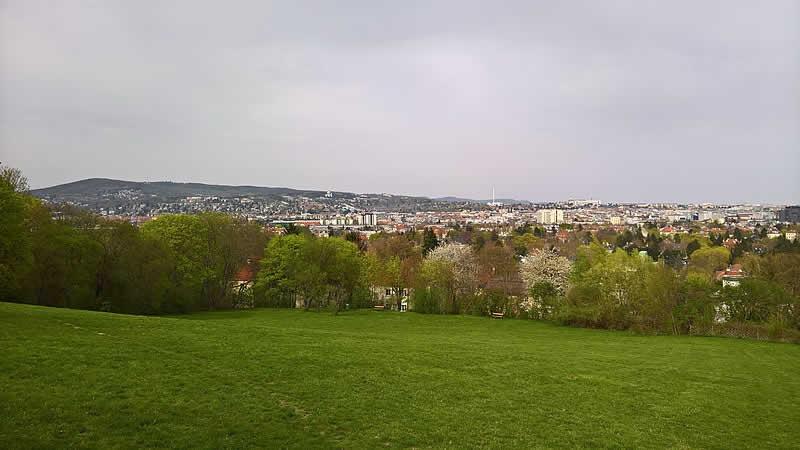 Roter Berg in Wien-Hietzing