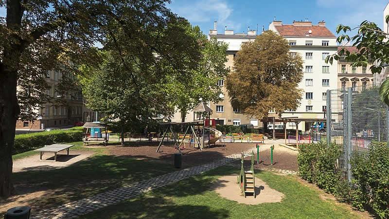 Rubenspark in Wien 4