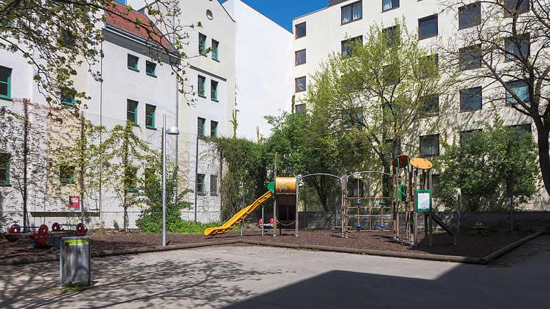 Rudolf-Sallinger-Park bei der Wiedner Hauptstraße Wien