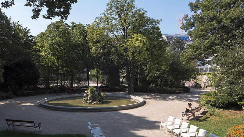Schönbornpark in Wien 8
