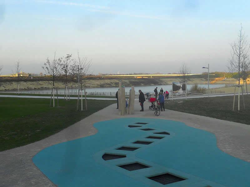 Seepark Aspern in der Seestadt Wien 22