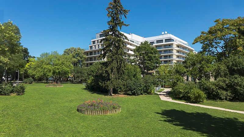 Strauß-Lanner-Park bei der Billrothstraße Wien 19
