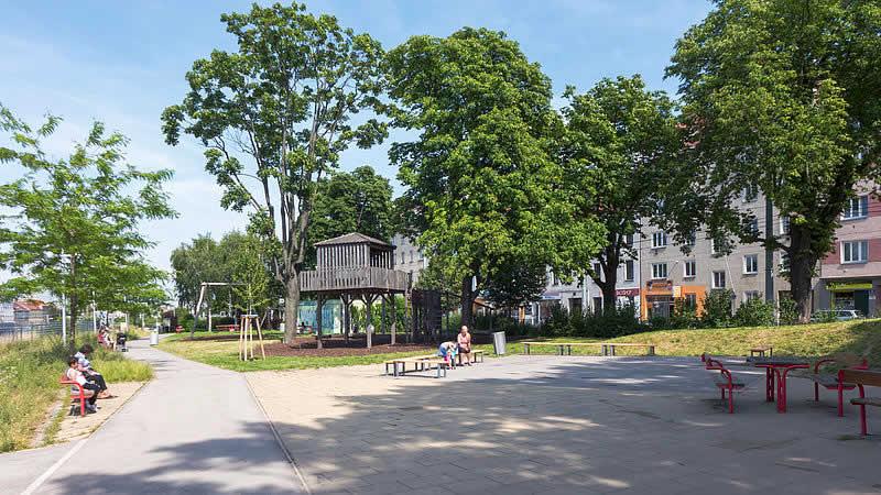Theodor-Körner-Park in Wien 12