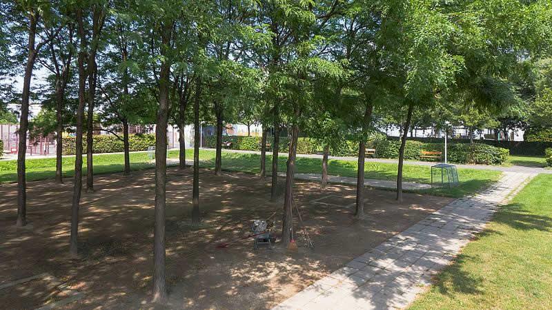 Trygve-Lie-Park in Wien-Donaustadt