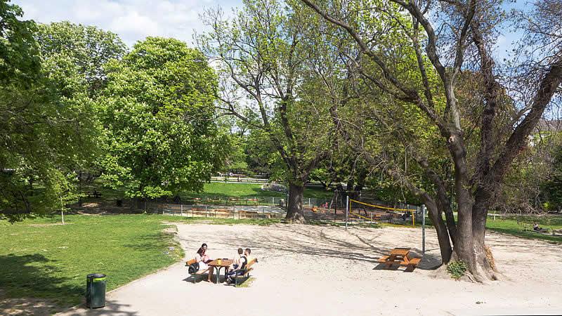 Waldmüllerpark in Wien-Favoriten