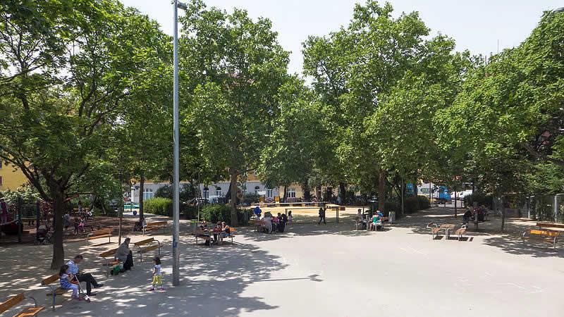 Wielandpark bei der Favoritenstraße Wien 10