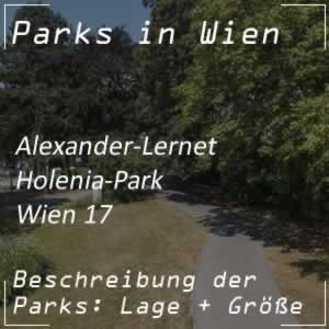 Wiener Park: Alexander-Lernet-Holenia-Park
