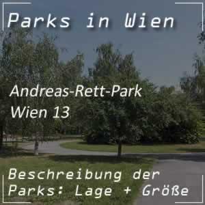 Wiener Park: Andreas-Rett-Park