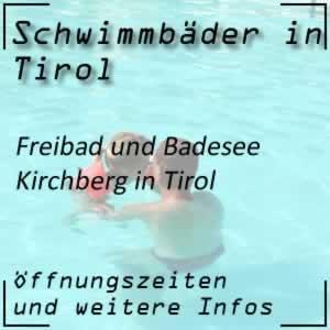 Badesee Kirchberg in Tirol