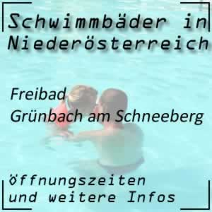 Freibad Grünbach am Schneeberg